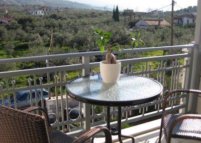 VillaOrestisRooms&ApartmentsStoupa balconywithview